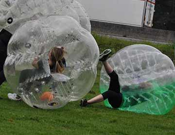 Bubble voetbal & More
