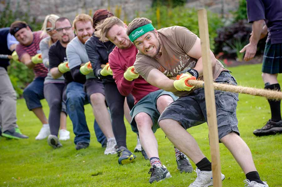 Highland games and meat
